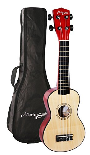 Martin Smith UK-212 Ukulele naturholz