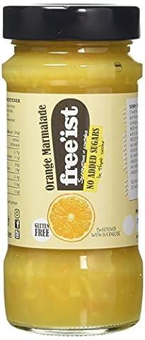 Free'ist No Added Sugar Orange Marmalade Jam, 280 g, Pack of 6