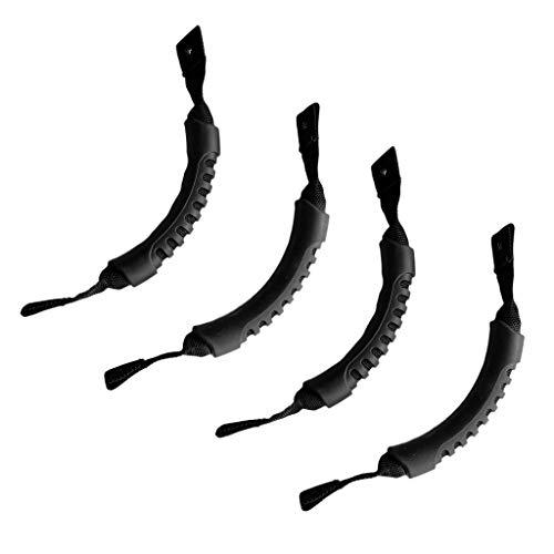 perfeclan 4pcs Kajak Tragegriff Gurtband Handbeschlag Sitzen Auf Der Oberseite Kanu Mount Strap -