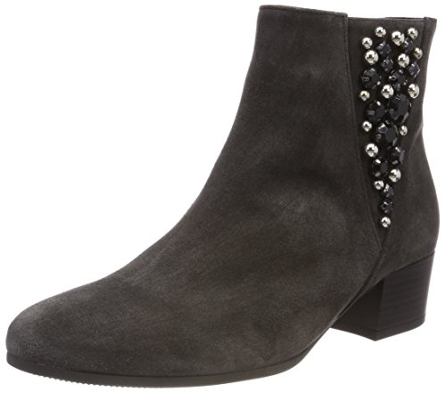 Gabor Shoes Damen Comfort Sport Stiefeletten, Grau (Dark-Grey (Micro)), 43 EU
