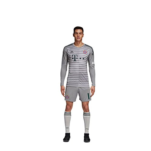 adidas FCB FC Bayern München Heim Torwarthose Torwartshorts 2018 2019 Neuer 1 Kinder Gr 140