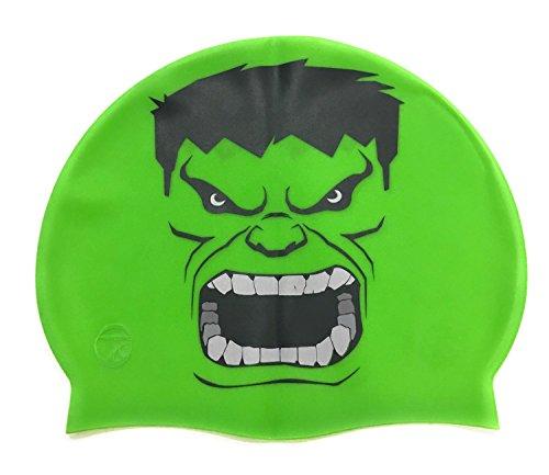 Gorro silicona Hulk | Gorro Natación| Alta comodidad