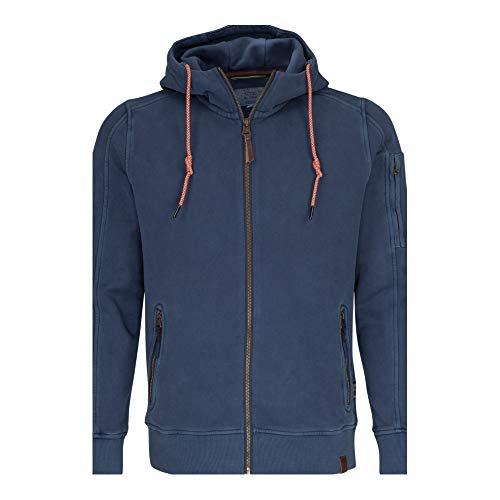 camel active Herren Sportjacke Hood-Jacket, Blau (Midnight Blue Core 15), XX-Large