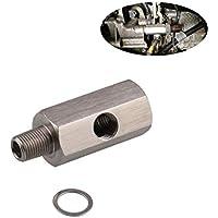 "AITOCO Adaptador de Sensor de presión de Aceite de Coche, Adaptador métrico DE 1/8"" NPT de Acero Inoxidable"