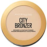 Maybelline Polvos Bronceadores Mate City Bronze Tono 100 Light Cool Pieles Claras - 8 gr