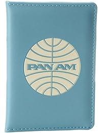 Pan Am Originals - 100% Polyurethane Passport Cover Hombres Titular Del Pasaporte