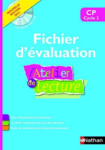 L'Atelier de Lecture - CP - Fichier d'évaluation
