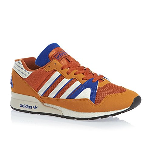 Adidas Originals Zx 710 Shoes - Fox Red F14-st / Chalk 2 / Collegiate Royal orange bleu