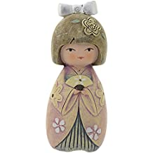 PROFUMATORE KOKESHI - PORTAFORTUNA - AIKO AMORE E PASSIONE - COLORATA - H CM 10 CON SCATOLA E FRAGRANZA MADE IN ITALY