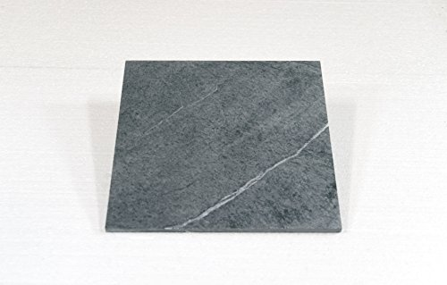 Specksteinfliese/Specksteinplatte 30,0x30,0x1,0 cm