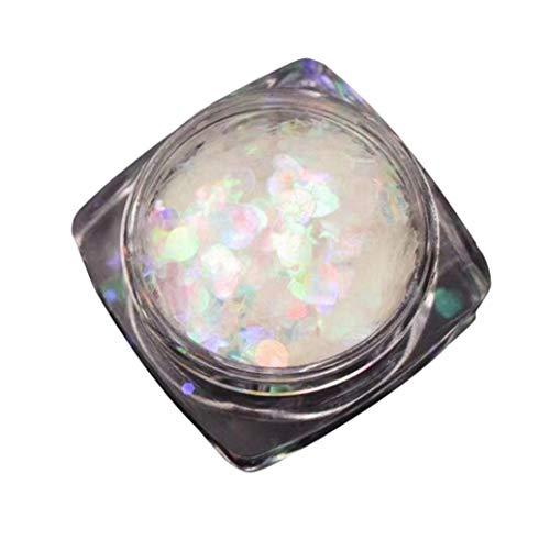 sunshineBoby Nail Art coloré Strass Ongle de cristal Briller Manucure Décoration L'amour Manucure Paillettes (Multicolore)