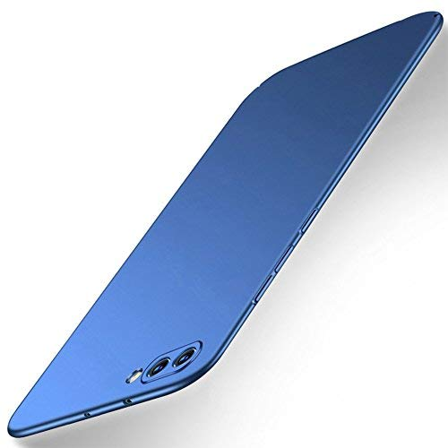 AVIDET Huawei Honor View 10 Hülle / Huawei Honor V10 Hülle - Bumper und Anti-Scratch Hard Cover Case Tasche für Huawei Honor View 10 (Blau)