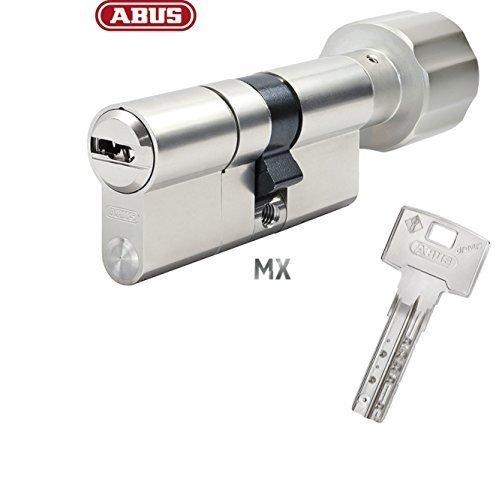 ABUS Bravus.3000 MX Knaufzylinder mit Sicherungskarte und 5 Schlüssel, Länge (a/b) 40/K40mm (c=80mm) K=Knaufseite, modulare Bauweise MX erhöhter Bohr/Zieh- u. Abreißschutz -