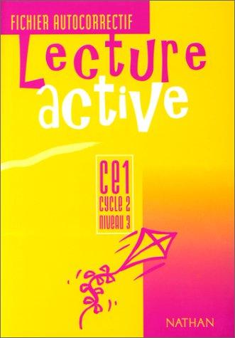 Lecture active, CE1, cycle 2, niveau 3, fichier autocorrectif