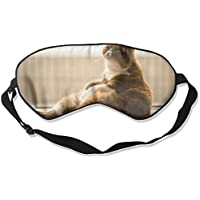 Eye Mask Eyeshade Fat Cat Sleeping Mask Blindfold Eyepatch Adjustable Head Strap preisvergleich bei billige-tabletten.eu