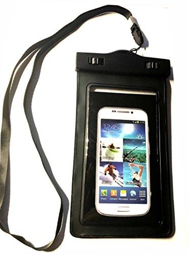 4ProTec wasserdichte Handytasche für Motorola TLKR T92 H2O PMR Funkgerät Ideal für den Strand, Wassersport, fürs Radfahren, Angeln, usw. ...