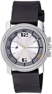 Fastrack Economy Analog Silver Dial Men's Watch -NK3039SP01