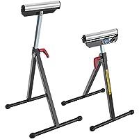AREBOS Rollenbock Belastbarkeit: 90 kg/klappbar / höhenverstellbar/GS geprüft