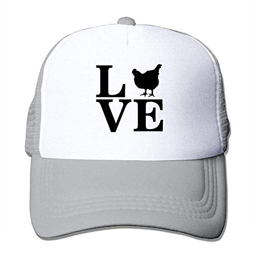 Hoswee Unisex Kappe/Baseballkappe, Love Chickens Men&Women Hip-Hop Street Mesh Hat Snapback Hat - Yeezy 1 Nike