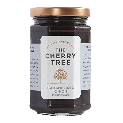 Zwiebel Chutney aus roten Zwiebeln / Caramelised Onion Marmelade - 320 g - Ein Premium-Gourmet Chutney der Spitzenklasse von The Cherry Tree