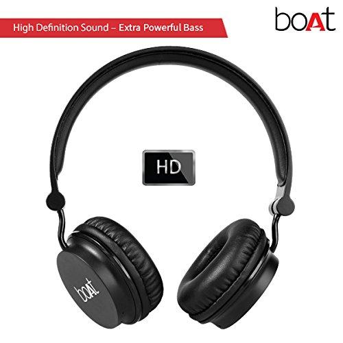 Boat-Rockerz-400-On-Ear-Bluetooth-Headphones-Carbon-Black