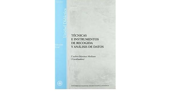 Tecnicas de recogida y analisis de datos