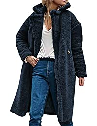 best website 1e741 c062c Suchergebnis auf Amazon.de für: Teddyjacke, - Blau / Damen ...