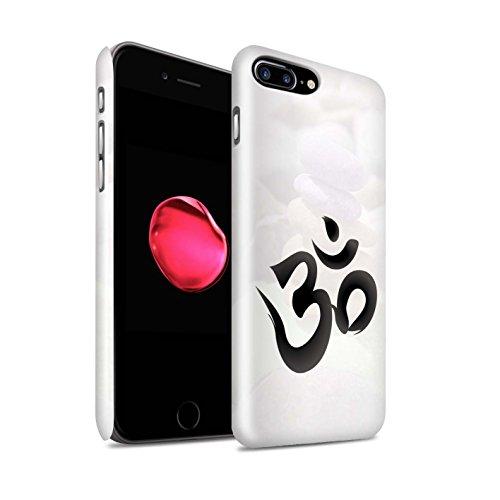 STUFF4 Glanz Snap-On Hülle / Case für Apple iPhone 6+/Plus 5.5 / Zen Statue Muster / Innerer Frieden Kollektion OM Symbol