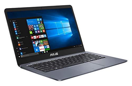 """Asus Vivobook E406MA-BV106T PC portable 14"""" HD gris foncé (Intel Pentium, RAM 4Go, EMMC 128Go, Windows 10 S) Clavier AZERTY Français"""
