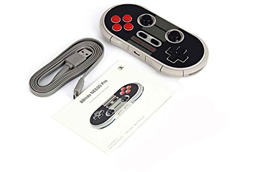 NES30 Pro - Classic Wireless Bluetooth Game Controller - 8Bitdo N30