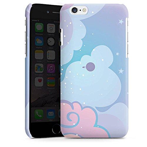 Apple iPhone 4 Housse Étui Silicone Coque Protection Nuages Ciel Étoiles Cas Premium brillant