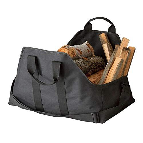 Dubleir Brennholz-Aufbewahrungstasche, Leinwand-Match-Aufbewahrungstasche, Tragbare Brennholz-Aufbewahrungstasche, Einfach zu bedienende Holztasche
