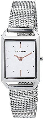 Viceroy Reloj Analogico para Mujer de Cuarzo con Correa en Acero Inoxidable 471130-07