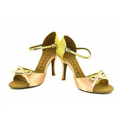 Ruhe @ Damen Beruf Dance Schuhe Weiß