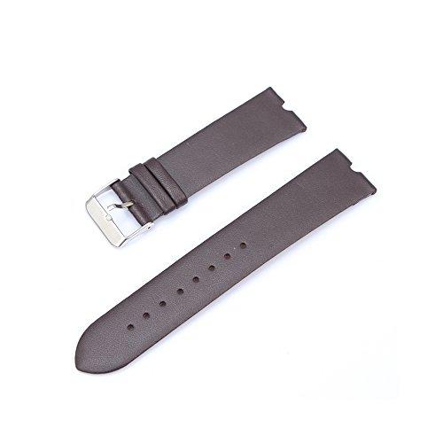 Fenrad 22mm Vacchetta Caffè Cinturino Braccialetto in Pelle per Motorola moto 360 Smartwatch Watch Leather Band Orologio Sostituzione Cinghia di Polso Strap Bracelet con Attrezzo--Coffee