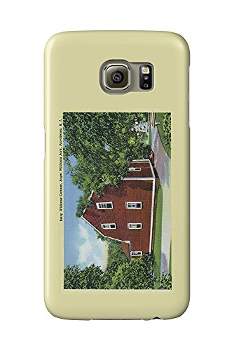Providence, Rhode Island - Roger Williams Park View of Betsy Williams Cottage (Galaxy S6 Cell Phone Case, Slim Barely There) - Williams Island