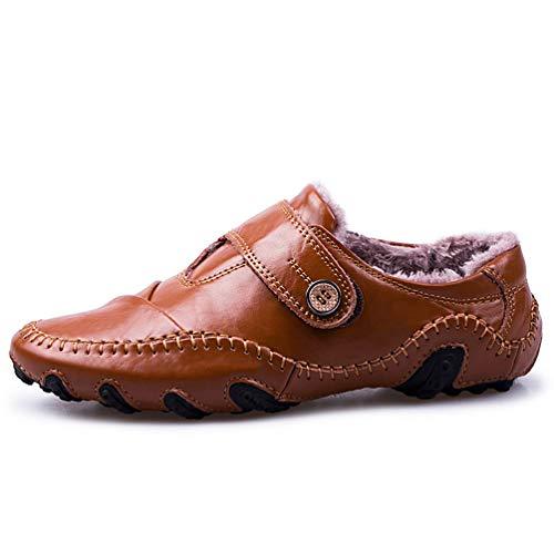 MäNner GelegenheitsSchuhe Moccasins Flats Loafers AtmungsAktive MäNner Kleider Schuhe Klassische Fahr Schuhe Party Schuhe Rutschen-Auf