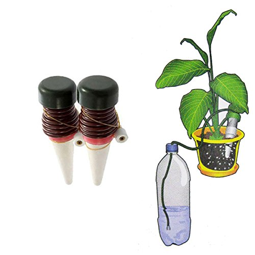 grde indoor automatic watering system for plant waterer ceramic probes houseplant spikes 8 pack. Black Bedroom Furniture Sets. Home Design Ideas