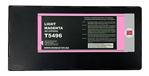 Ink Master - Cartuccia compatibile EPSON T5496 LIGHT MAGENTA per Epson Stylus Pro 10600