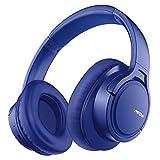 Mpow H7 Casque Bluetooth sans Fil, Casque Audio Oreillette Bluetooth avec 18 Heures de Jeu, Pliable, Cache-Oreilles Confortable et Son Haute Fidélité pour Téléphone/Tablettes/PC