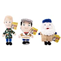 Only Fools and Horses Plush Figure Set All 3 Del Boy Rodney Uncle Albert