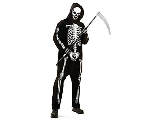 My Other Me–costume da scheletro zombie, per adulti, taglia M-L (Viving Costumes mom02282)