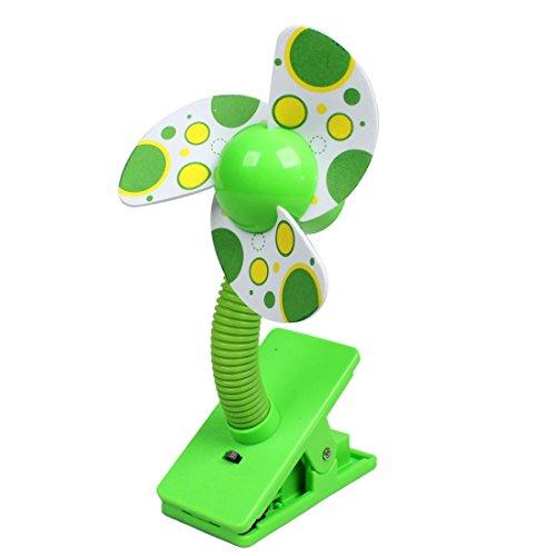 Schaum Kühler (MiKi&Co Auto 3 Laptop Schaum Blatt Kühler Klammer handliche Mini Ventilator grün DE)