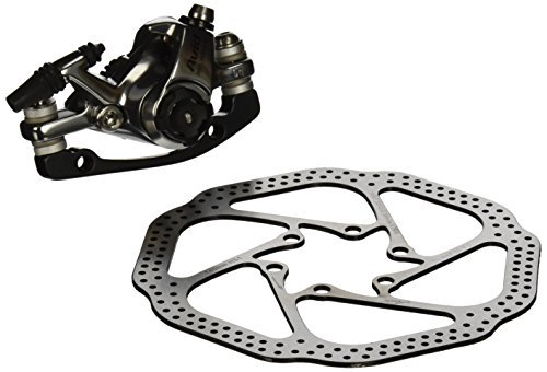 Avid BB7 Road SL Falcon Grey, 140 mm HS1 Rotor (Front or Rear-Includes IS Brackets, Titanium CPS and Rotor Bolts) by Avid