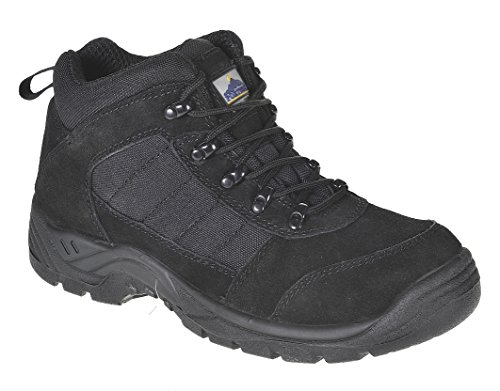 Portwest Steelite Trouper de coffre pour homme de travail S1P 36/3 Noir - noir