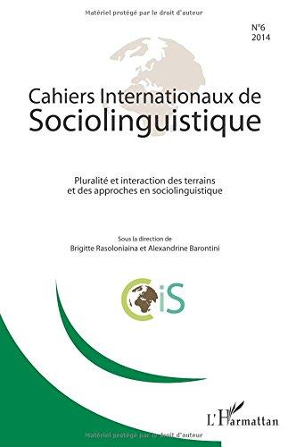 Cahiers Internationaux de Sociolinguistique