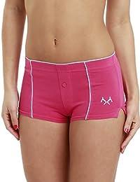 Remixx Damen Boxershorts 4er Pack Stretch Baumwolle