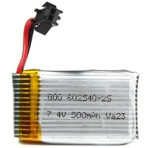 WayIn® 7.4V 500mAh Lipo batterie pour JJRC H8C H8D RC Quadcopter