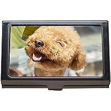 Portatarjetas de visita, Canasta para perros al aire libre Variedad de pasta Caniche pequeño,
