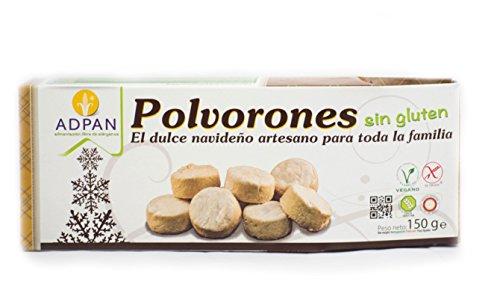 Polvorones sin gluten ADPAN (5 paquetes de 150 gr)